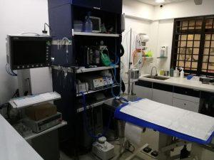 Preparation room